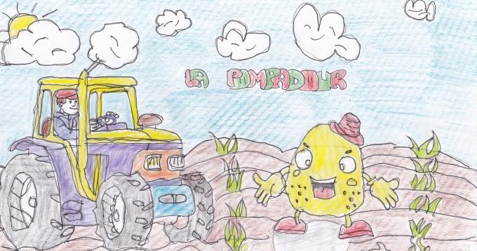 Dessin de Cédric, 9 ans