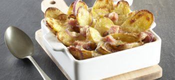 Gratin savoyard aux pommes de terre Pompadour