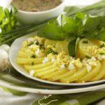 Salade de pommes de terre Pompadour au cresson
