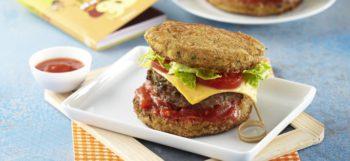 Hamburger en galettes de pommes de terre Pompadour