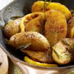 Pommes de terre Pompadour rôties au citron & romarin
