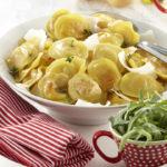 raviolis aux pommes de terre pompadour