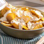 Truffade de pommes de terre Pompadour à la Tomme d'Artois