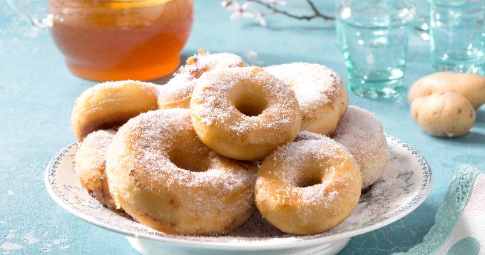 Donuts de pommes de terre Pompadour
