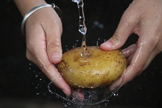 faut-il laver les pommes de terre