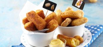 Nuggets de pommes de terre Pompadour & poulet