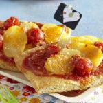 Pizza aux pommes de terre Pompadour & tomates