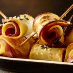 Roulés aux pommes de terre Pompadour & jambon
