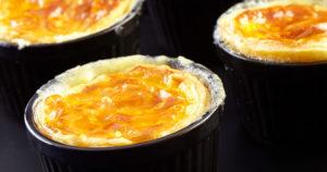 Soufflés aux pommes de terre Pompadour & Reblochon