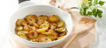 Pommes de terre Pompadour sarladaises