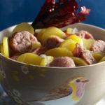 Coddle Irlandais aux pommes de terre Pompadour