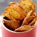 Chips de pommes de terre Pompadour aux herbes